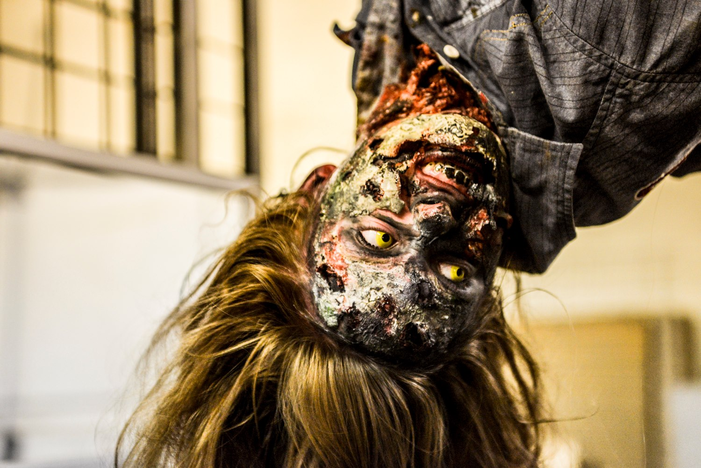 Zombie Apocalypse Yellow Eyes